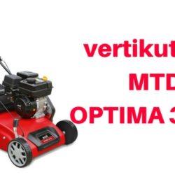 vertikutátor MTD OPTIMA 38 VO